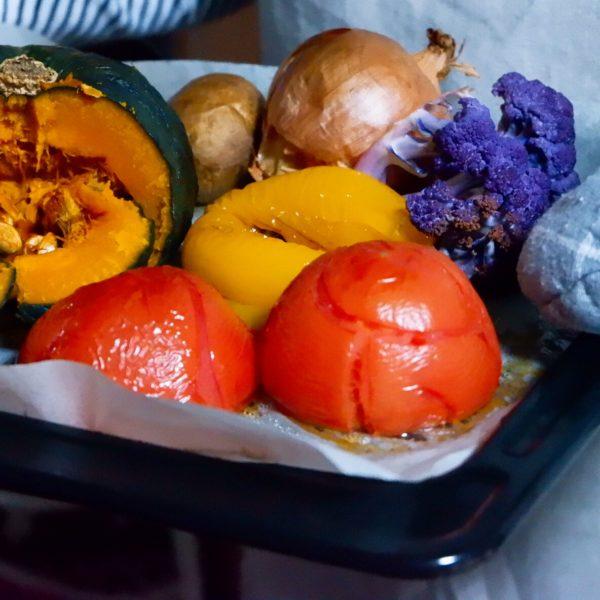 野菜まるごとオーブン焼き