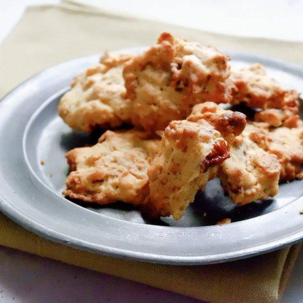 オートミールとナッツのザクザククッキー